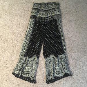 Free People wide leg palazzo pants
